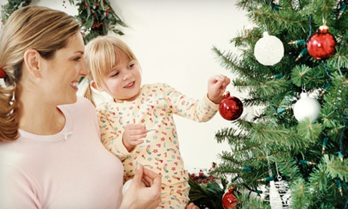Organic Turf Solutions - Knoxville: $75 for 7-Foot Tree and 12-Inch Wreath with Delivery from Organic Turf Solutions ($150 Value)
