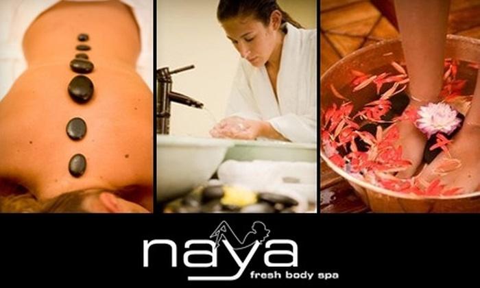 Naya Fresh Body Spa - Los Angeles: $25 for a Massage, Hand Reflexology, Facial, or Foot Scrub at Naya Fresh Body Spa in Chatsworth ($50 Value)