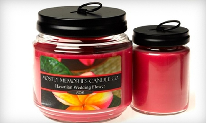 Mostly Memories Candle Co. - Nixa: $15 for $30 Worth of Candles and Gifts at Mostly Memories Candle Co.