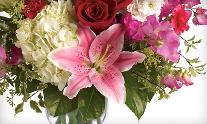 Teleflora - Multiple Locations: $25 for $50 Worth of Floral Arrangements In-Store or Online from Local Teleflora Florists. Seven Locations Available.