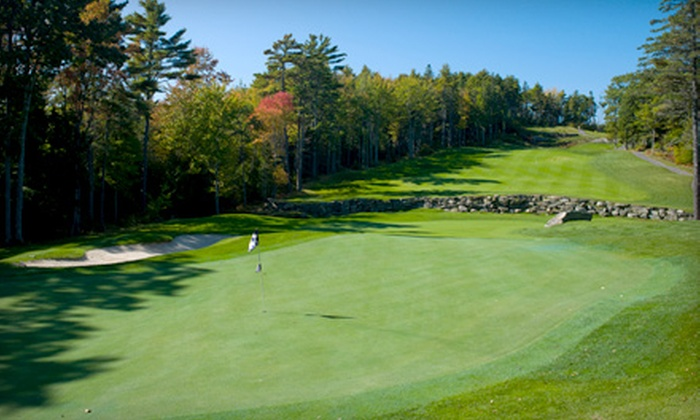 Boothbay Country Club - Boothbay: 18-Holes of Golf with Cart Rental and Lessons or One-Hour Group Golf Lessons with Dr. Jerry Elwell at Boothbay Country Club.