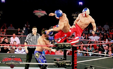 Lucha Libre USA's Masked Warriors at The Hard Rock Hotel & Casino Albuquerque on Sat., July 30 at 5PM: General Admission Seating - Lucha Libre USA's Masked Warriors at The Hard Rock Hotel & Casino Albuquerque in Albuquerque