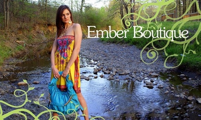 Ember Boutique - Heights: $20 for $40 Worth of Clothing, Accessories, and More at Ember Boutique