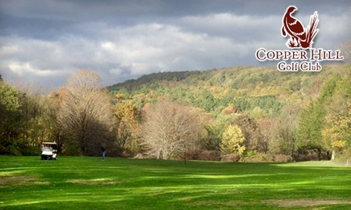 Copper Hill Golf Club - East Granby: $17 for 18 Holes of Golf and Cart at Copper Hill Golf Club (Up to $35 Value) in East Granby
