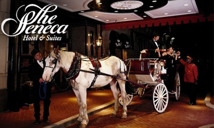 Seneca Hotel & Suites - Near North Side: $125 for a One-Night Stay in a Deluxe Suite at the Seneca Hotel & Suites (Up to $269 Value)