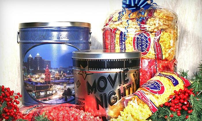 Velvet Creme Popcorn - Shawnee Mission: $50 for a Gourmet-Popcorn Package at Velvet Creme Popcorn in Westwood ($100 Value)