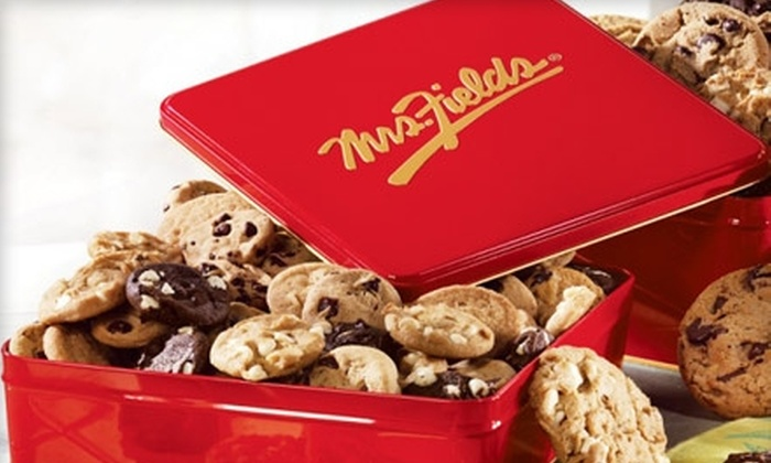 Mrs. Fields online: $25 for $50 Worth of Cookies, Brownies, and More at MrsFields.com
