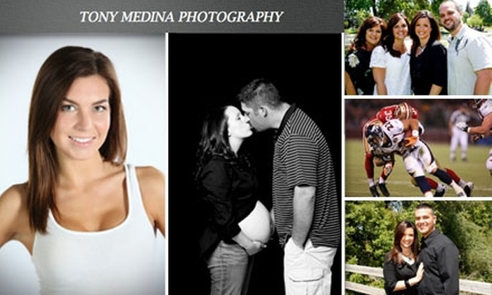 Tony Medina Photography  - Santa Clara: $49 for 2-Hour Photo Session with 30-Image CD from Tony Medina Photography ($250 Value)