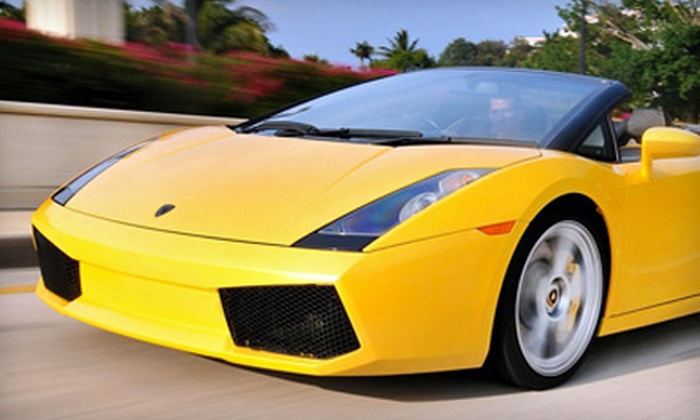 Xotic Dream Cars - Central Park Palm Beach: 60- or 90-Minute Luxury-Car Ride from Xotic Dream Cars in West Palm Beach (Up to 55% Off)