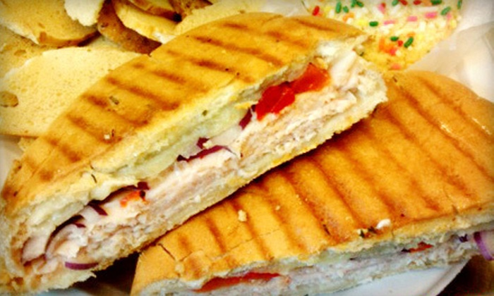 Clayton Bakery & Cafe - Clayton: Café Fare for Lunch for One, Two, or Four at Clayton Bakery & Cafe (Half Off)