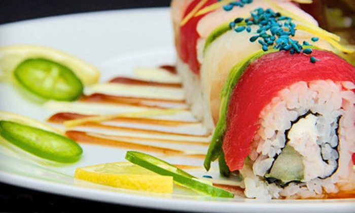 Blu Sesame - Downtown Springfield: $6 for $12 Worth of Asian Fare and Sushi at Blu Sesame