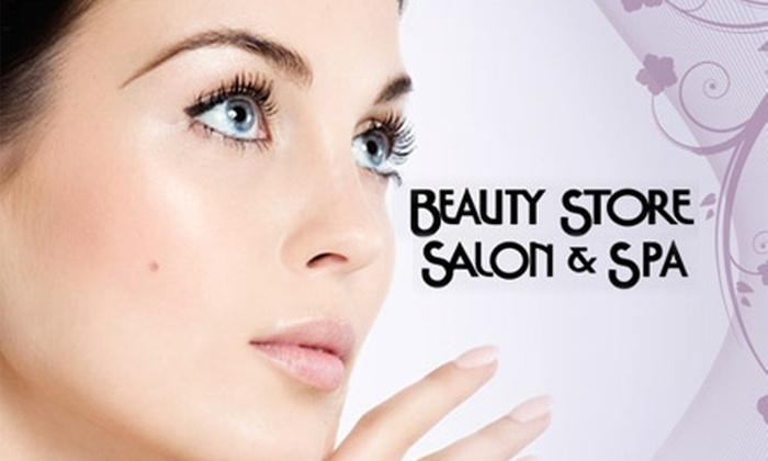 Beauty Store Salon & Spa - Multiple Locations: $20 for $40 Worth of Beautifying Lotions, Potions, and More from Beauty Store Salon and Spa