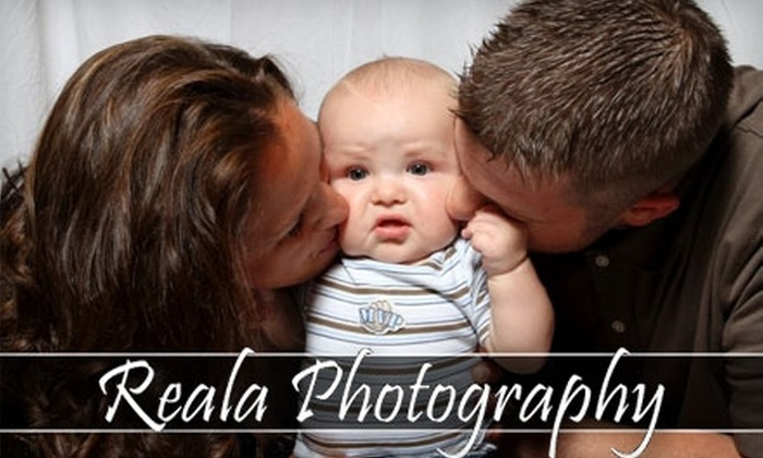 """Reala Photography - Milwaukee: $75 for an On-Location Family- or Senior-Portrait Session, One 8""""x10"""", Two 5""""x7""""s, and 16 Wallet Prints from Reala Photography ($150 Value)"""