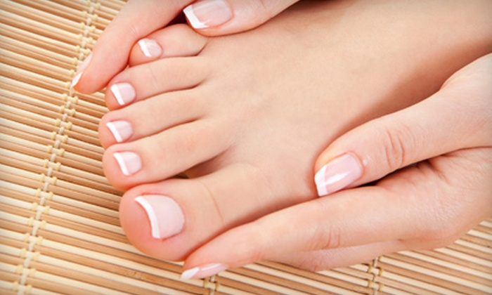 T&D Nails & Spa - Lake Magdalene: Half Off Deluxe Manicure and Hot-Stone Pedicure