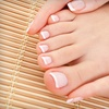 $30 for a Deluxe Manicure and a Hot-Stone Pedicure at T&D Nails & Spa ($60 Value)