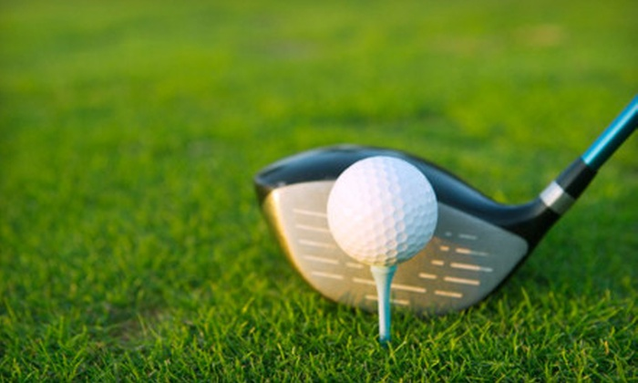 Elkhorn Ridge Golf Course - Elkhorn: $13 for Nine-Hole Golf Outing for Two with Range Balls at Elkhorn Ridge Golf Course (Up to $26 Value)