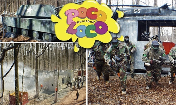 Poco Loco Paintball  - New Hanover: $20 for All-Day Paintball Package at Poco Loco Paintball