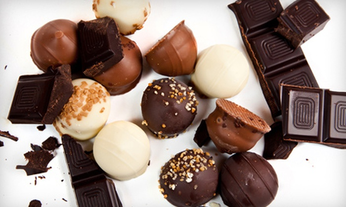 Coco-luxe Confections - Sausalito: Build-Your-Own-Chocolate-Bar or Three-Hour Truffle Class at Coco-luxe Confections in Sausalito