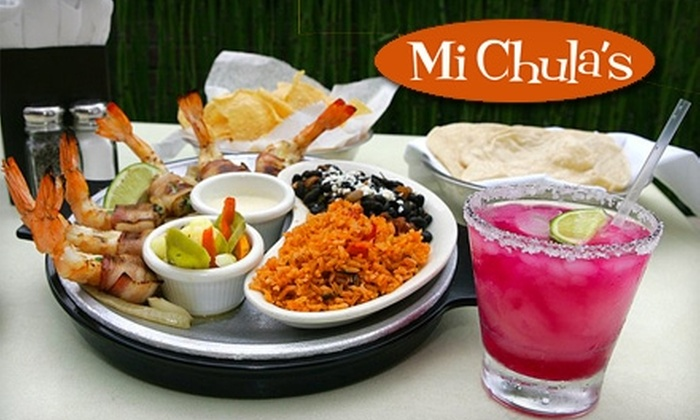 Mi Chula's Good Mexican - Plano: $10 for $20 Worth of Mexican Cuisine and Drinks at Mi Chula's