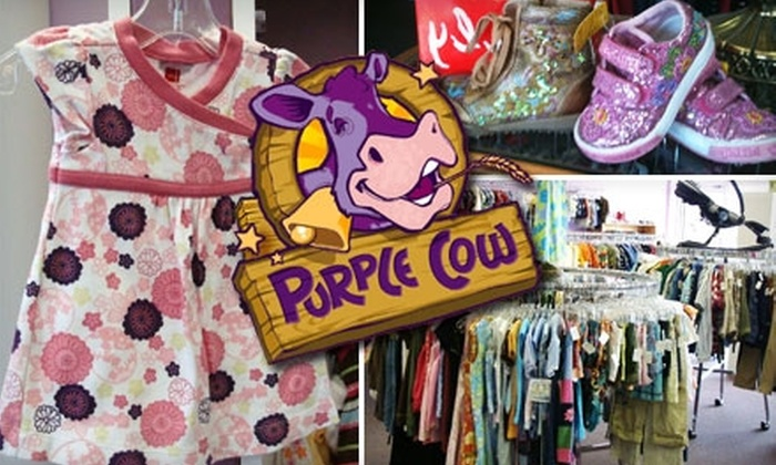 Purple Cow - Sappington: $13 for $30 Worth of Clothing for Kids at Purple Cow