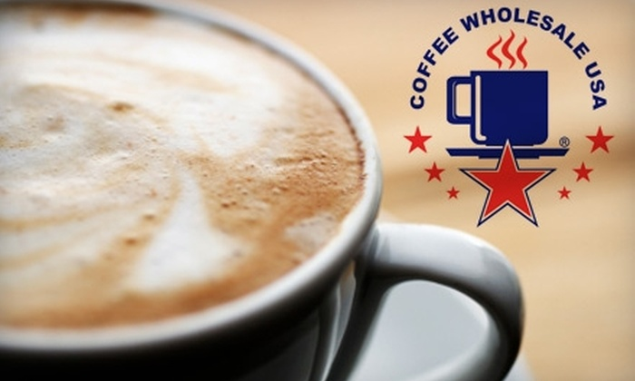Coffee Wholesale USA: $10 for $25 Worth of Coffee, Tea, and More from Coffee Wholesale USA