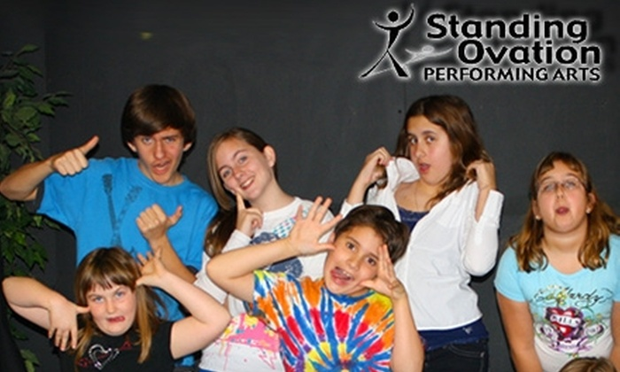 Standing Ovation Performing Arts - Le Chalet Shopping Center: $25 for a One-Day Acting Day Camp at Standing Ovation Performing Arts
