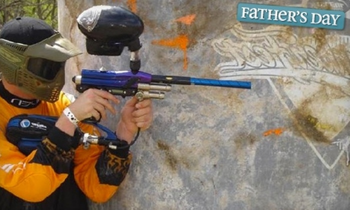 Krossfire Paintball - San Antonio: $11 for One Day Of Paintball Plus Equipment Rental and Paint at Krossfire Paintball ($24 Value)