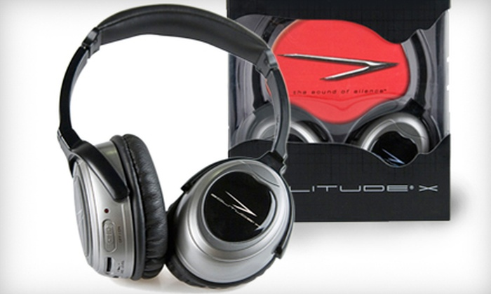 ProTravelGear.com: $99 for Solitude X Active-Noise-Canceling Headphones from ProTravelGear.com ($199.95 Value)