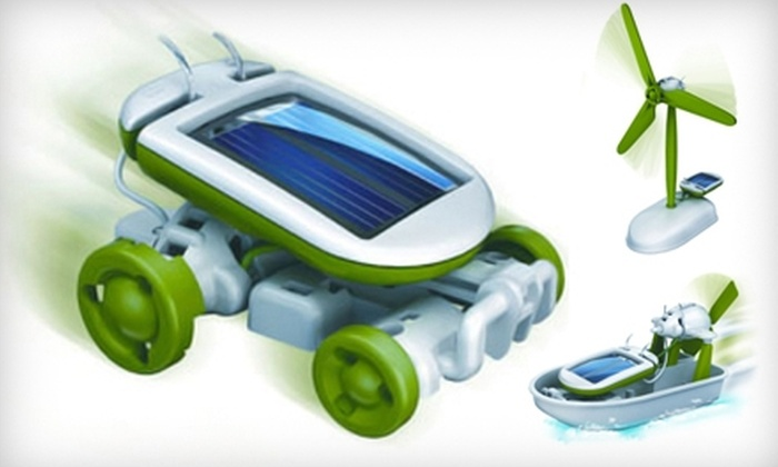Eco Educational Toys - Salem OR: $19 for a 6-In-1 Solar Educational Toy from Eco Educational Toys ($39 Value)