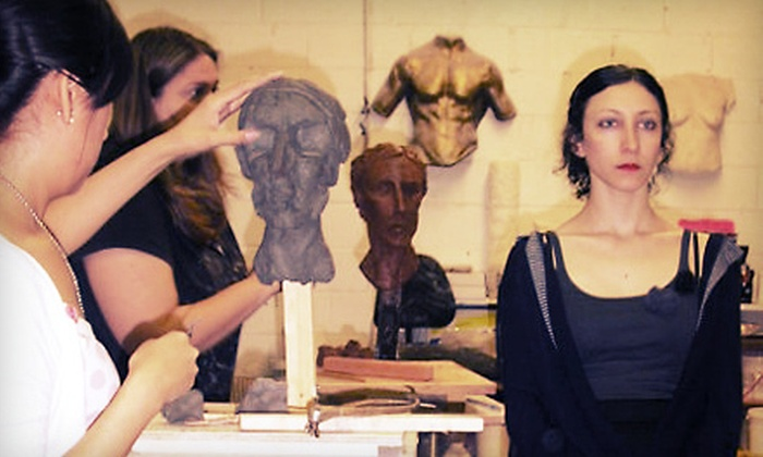 The Compleat Sculptor - Downtown,West Village,Soho: Intro to Sculpting Class for One, Two, or Four at The Compleat Sculptor (Up to 74% Off)