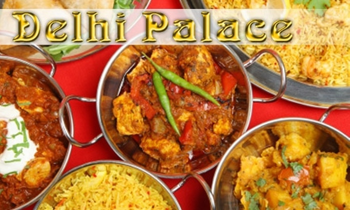 Delhi Palace - Northwest Columbia: $10 for $20 Worth of Indian Cuisine at Delhi Palace