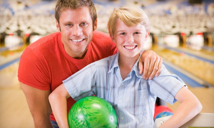 Rockford-Area Bowling Centers - Multiple Locations: $12 for One-Hour Bowling Outing with Shoe Rental for Five at at One of Five Rockford-Area Bowling Centers (Up to $33 Value)