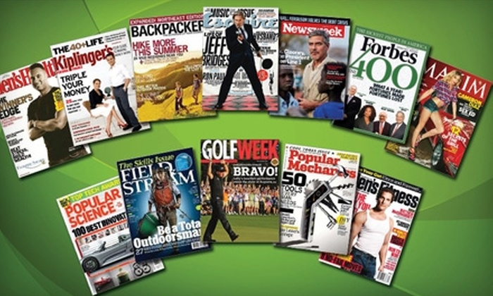 Blue Dolphin Magazines Backpacker Magazine: Magazine Subscriptions with Choice of Up to Six Titles from Blue Dolphin Magazines. Twelve Titles Available.
