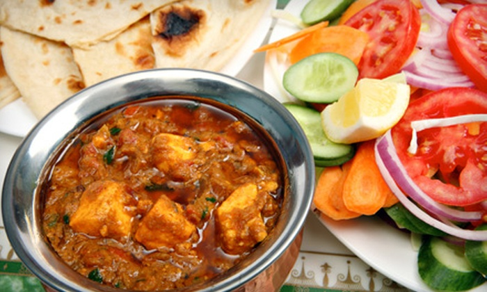 Village Indian Cuisine Restaurant - Journal Square: Indian Cuisine and Drinks for Two or Four at Village Indian Cuisine Restaurant in Jersey City (Up to 62% Off)