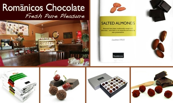Romanicos Chocolates - Miami: $20 for $50 Worth of Gourmet Chocolate at Romanicos