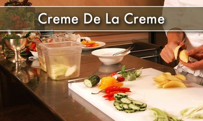 Creme De La Creme - Payne Industrial District: $32 for a Cooking Class at Crème de la Crème ($65 Value)