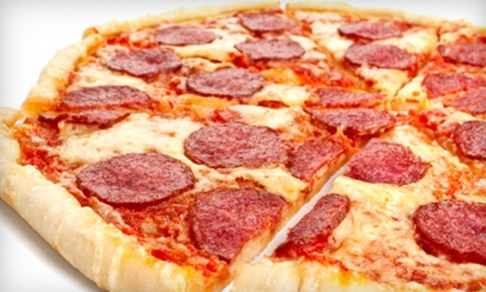 Hoop's Pizza and Wings - Cedar Ridge Park: $5 for $10 Worth of Appetizers and Pizza at Hoop's Pizza & Wings