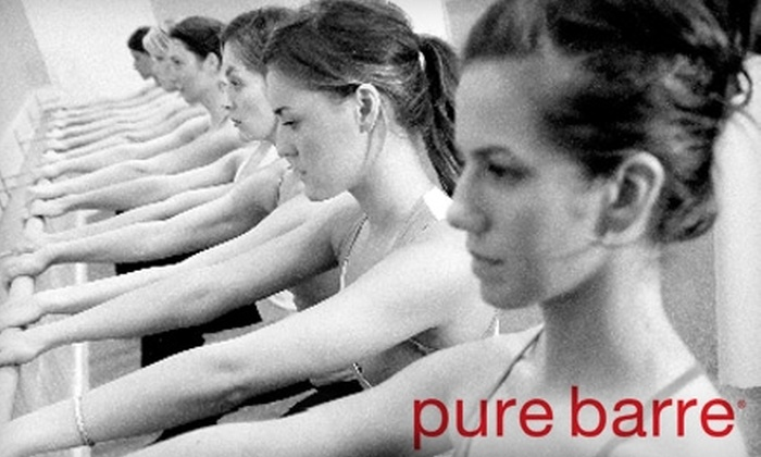 Pure Barre - West LA: $20 for Two Body-Toning, Fat-Burning Workout Classes at Pure Barre ($50 Value)