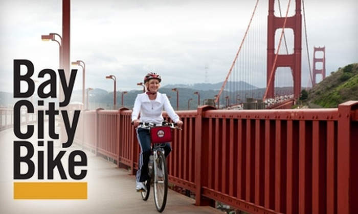 Bay City Bike - Fisherman's Wharf: $32 for a Guided Bike Tour from Bay City Bike ($65 Value)