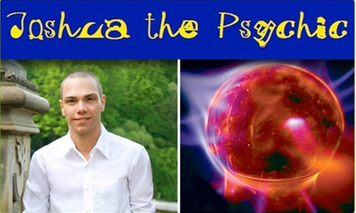 Joshua the Psychic - Upper West Side: $45 for a 45-Minute Reading from Joshua the Psychic