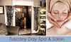 Tuscany Day Spa - Old Colorado City: $69 for a Day at the Spa Package, Including a One-Hour Swedish Massage, One-Hour European Facial, and Shampoo and Cut from Tuscany Day Spa ($160 Value)