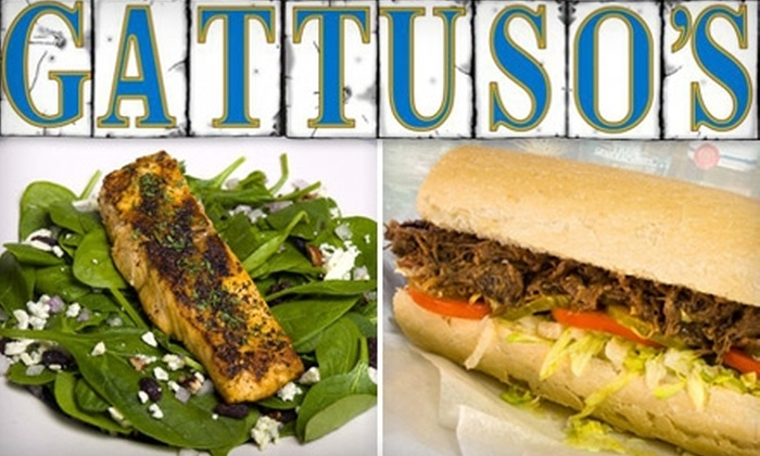 Gattuso's Neighborhood Bar & Restaurant - Gretna: $10 for $20 Worth of New Orleans Comfort Food and Drinks at Gattuso's Neighborhood Bar & Restaurant