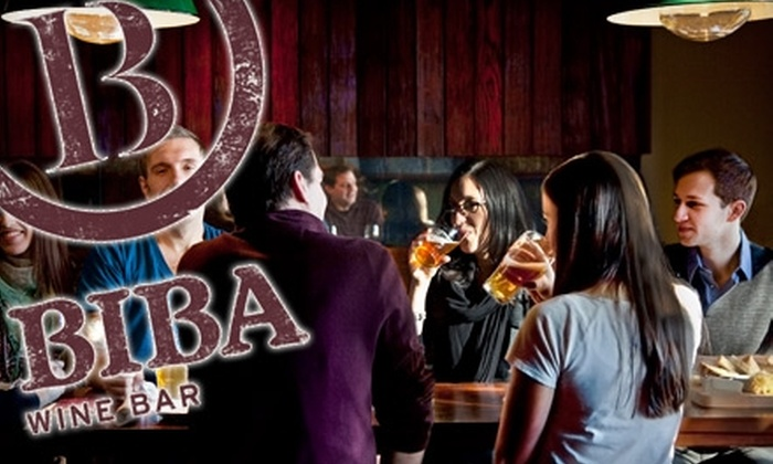 Biba Wine Bar - University City: $15 for $30 Worth of Wine, Cheese, and Small Plates at Biba Wine Bar