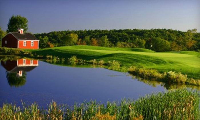 Blackstone National Golf Club - Sutton: $55 for a Golf Package at Blackstone National Golf Club in Sutton ($109.99 Value)