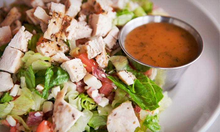 Mady's Deli & Cafe - Parkside: Cafe Meal with Soup or Custom Salad and Entree for Two or Four at Mady's Deli & Cafe (Up to 51% Off)