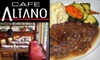 Cafe Altano - Closed - Hayes Valley: $10 for $25 of Authentic Italian Fare and Drinks at Cafe Altano