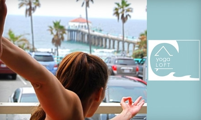 The Yoga Loft - Manhattan Beach: $39 for One Month of Unlimited Classes at the Yoga Loft in Manhattan Beach ($135 Value)