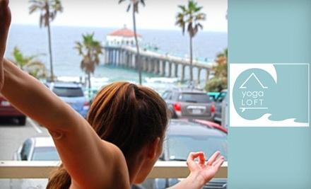 The Yoga Loft - The Yoga Loft in Manhattan Beach