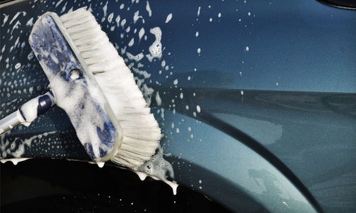 Expresso Car Wash - Multiple Locations: The Works Car Wash or Silver Package Detail at Expresso Car Wash