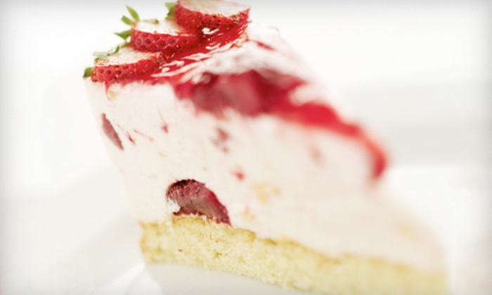 The Ultimate Cheesecake Bakery - Multiple Locations: $10 for $20 Worth of Cheesecake and Baked Treats at The Ultimate Cheesecake Bakery